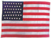 U.S. 45 star flag - (Utah statehood 1896)