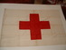 Red Cross Geneva Convention flag, IRC.