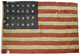 U.S. 24 Star Flag, 1821 - 1836.