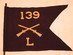 U.S. Army Co. L, 139th Infantry Guidon