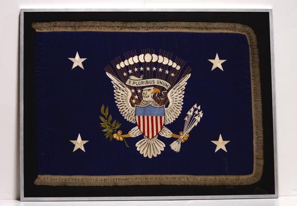 Presidential Flag of President Roosevelt, 1935.