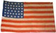 U.S. 39 Star Flag - Printed.