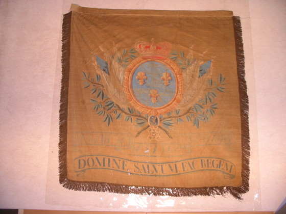 France Royal Banner - 18th Century.