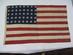 United States // 40 Star Flag  / 8-8-8-8-8 centere