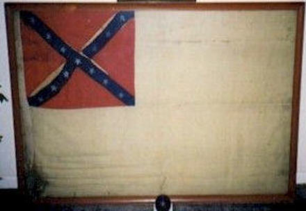 CSS Alabama Boat Flag in private collection