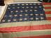 U.S. 38 Star Flag, centered.