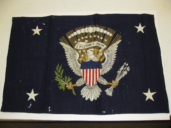 Presidential Flag of Franklin D. Roosevelt, 1945.