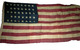 U.S. 38 Star Flag - Spanish American War.