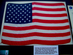 U.S. 50 Star Apollo 14 Flag - EVA Moon Flag 1971.