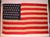 U.S. 45 Star Naval Flag from U.S.S. Olympia.