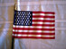 49 Star U.S. Flag, WWII - Fort McHenry 1959
