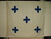 US Navy Code of Signals -  Numeral Flag 0