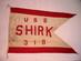 U.S. Navy Burgee Command Pennant - U.S.S. SHIRK