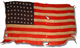 United States 48 Star Naval Ensign
