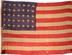 U.S. 35 Star flag.