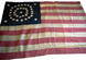 U.S. 38 Star Flag - Double Ring Pattern.
