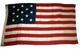 U.S. 13-Star Flag - 1876 Centennial Era.