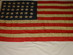 U.S. 35-Star Flag - John T. Hanna.