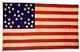 U.S. 34 Star Flag, 1861 - 1863
