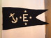 US Navy // E Award Pennant / with 4 stars