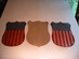 US // 44-star /  patriotic shield decorations  (3)