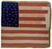 U.S. 35 Stars Artillery National Color.