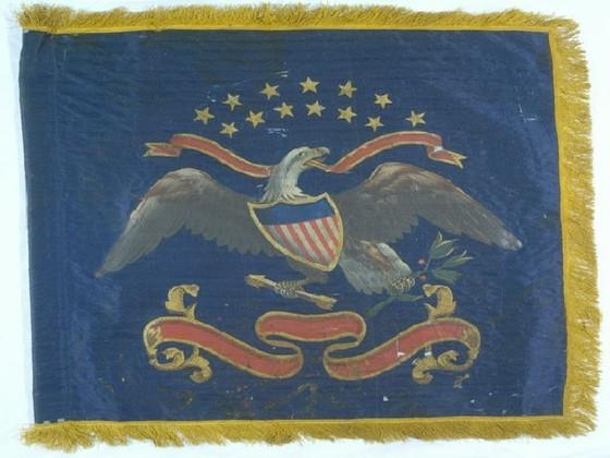 U.S. Cavalry Regimental Standard.