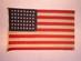 U.S. 48 Star flag - Arizona's Statehood.