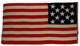 U.S. 13 Star, 13 Stripe Navy Boat Flag No. 7.