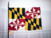 Maryland State Flag - US Geographic Extremes
