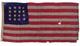 U.S. 16 Star Navy Boat Flag.